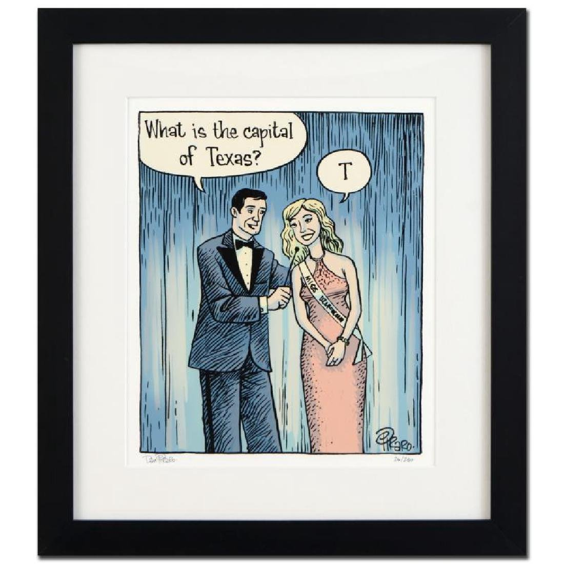 """Bizarro! """"Beauty Contest"""" is a Framed Limited Edition"""