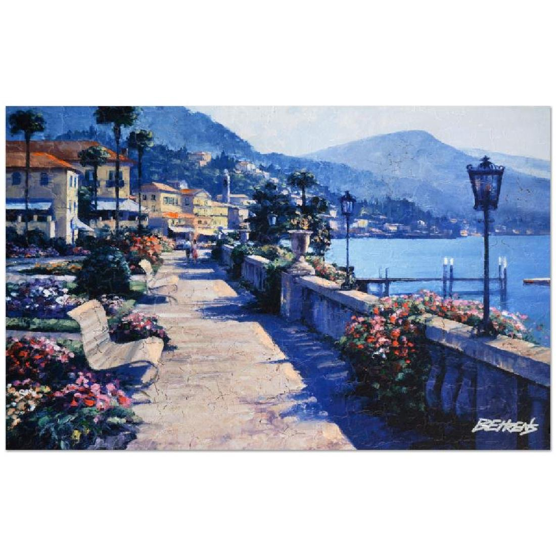 "Howard Behrens (1933-2014) - ""Bellagio Promenade"""