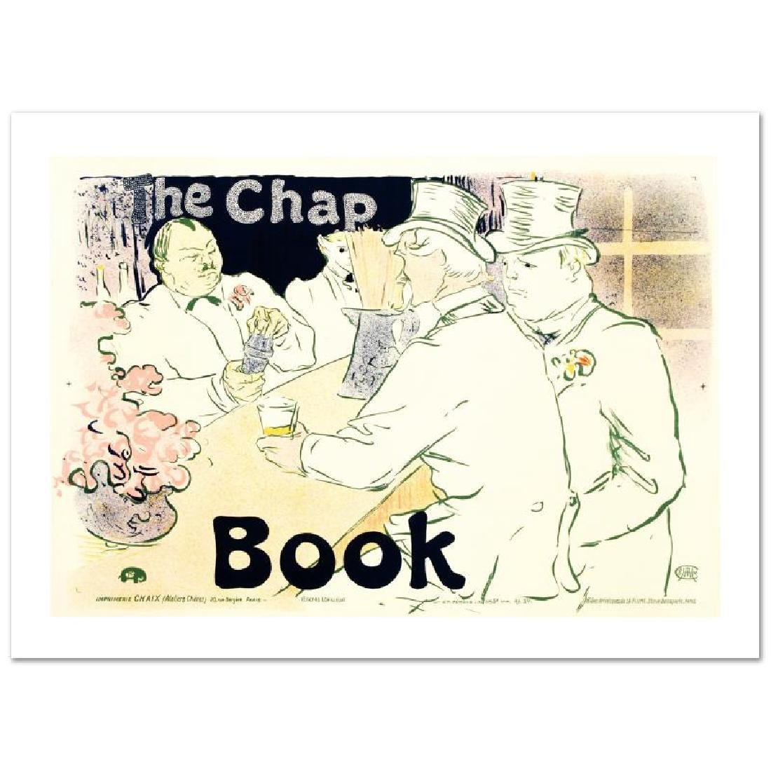 """The Chap Book"" Hand Pulled Lithograph by the RE"