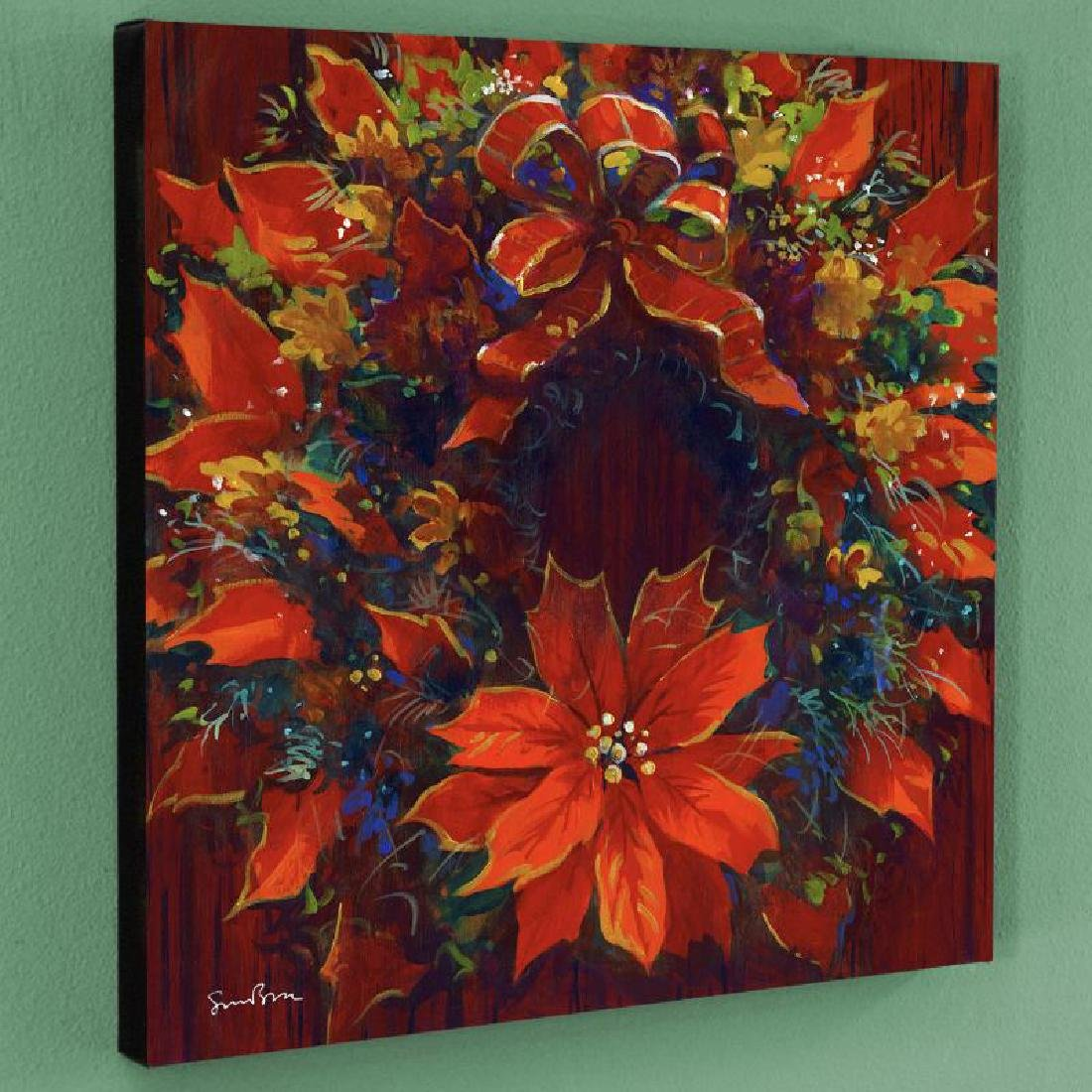"""""""Holiday Homecoming"""" Limited Edition Giclee on Canvas"""