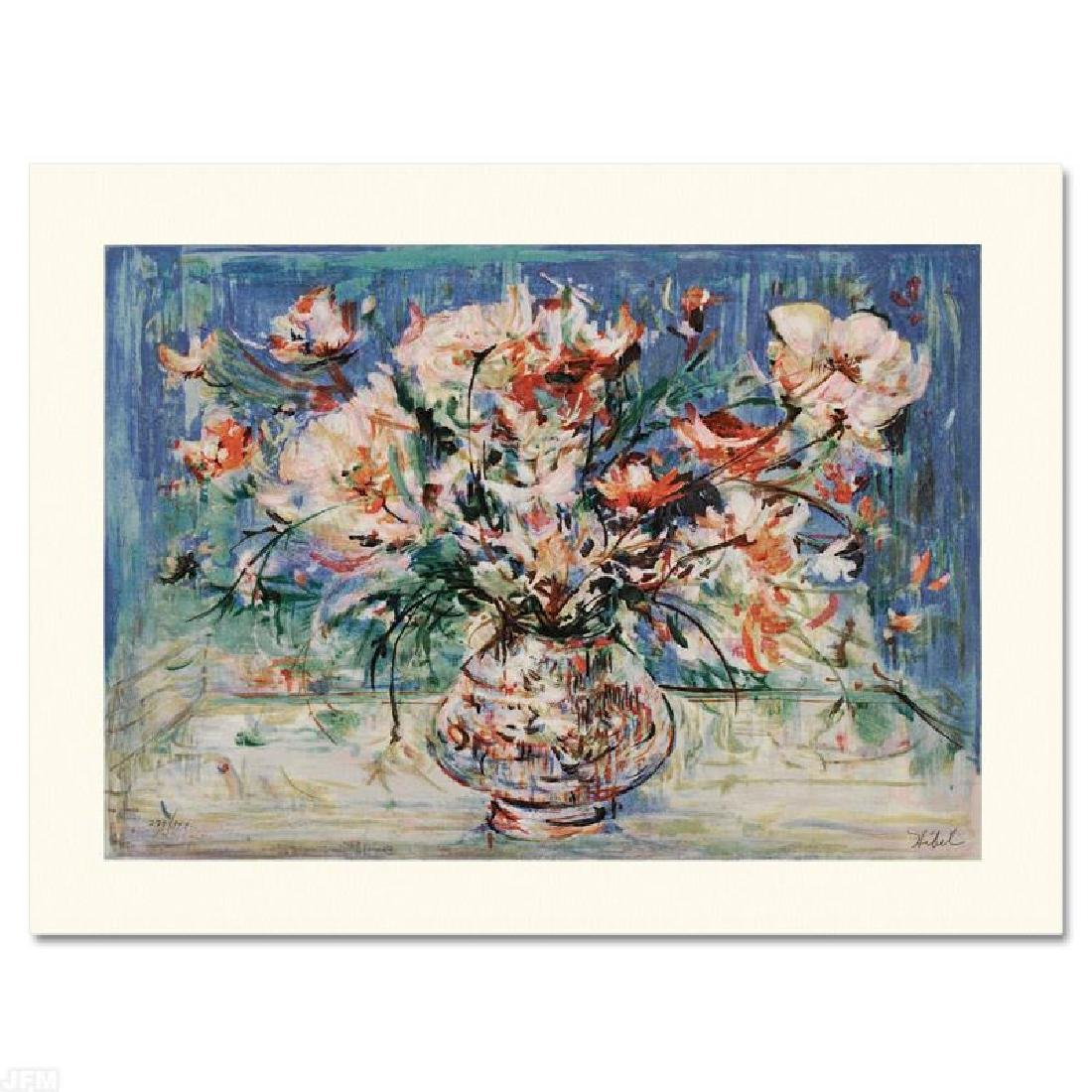 """Vita's Bouquet"" Limited Edition Serigraph by Edna"