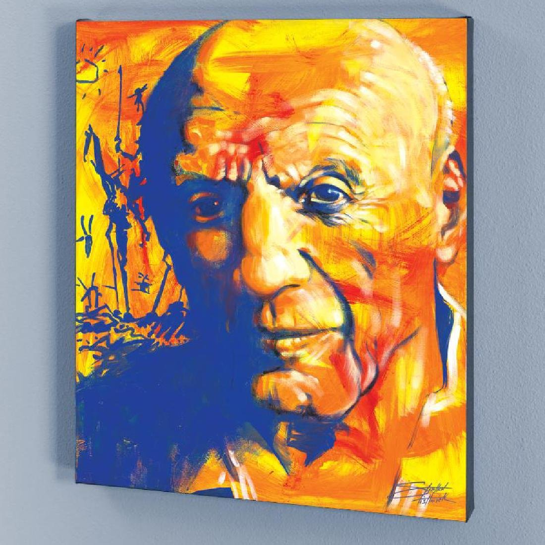 """Picasso"" LIMITED EDITION Giclee on Canvas by Stephen"
