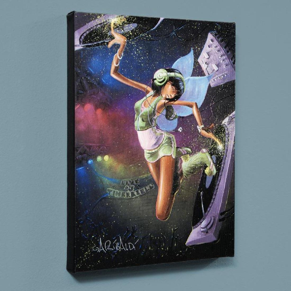 """Tinkerbell"" LIMITED EDITION Giclee on Canvas by David"