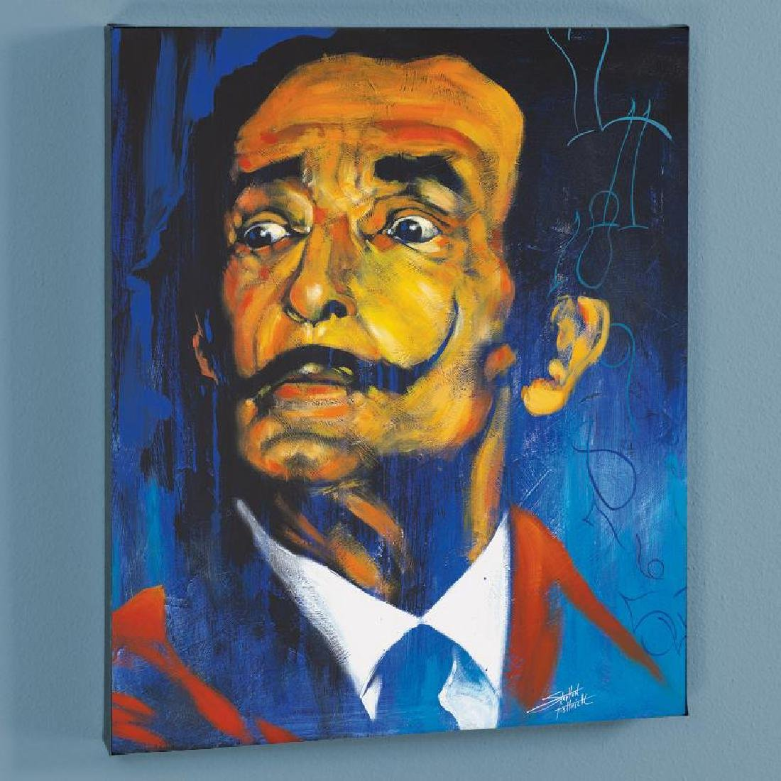 """Dali"" LIMITED EDITION Giclee on Canvas by Stephen"