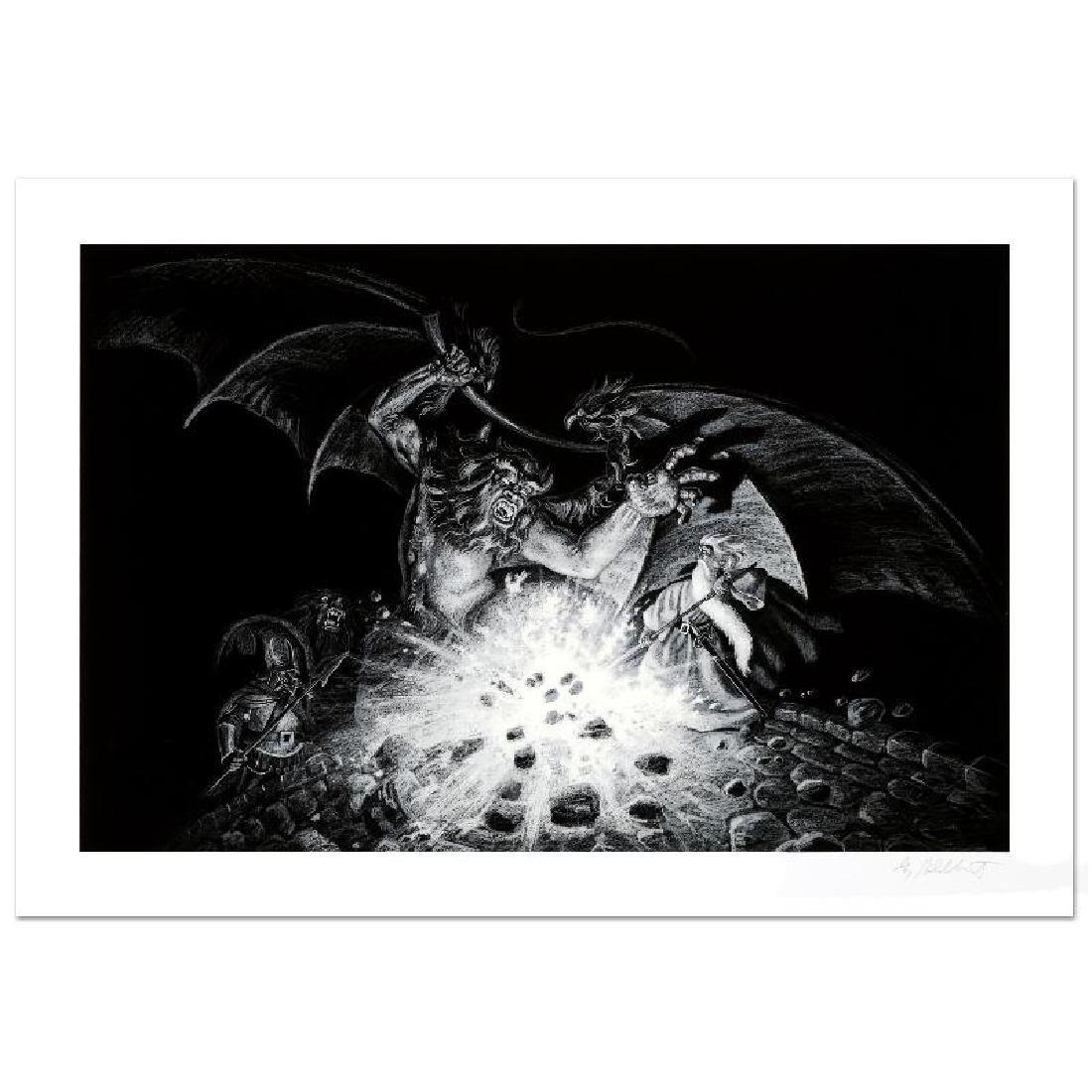 """Gandalf Versus Balrog"" Limited Edition Giclee by Greg"