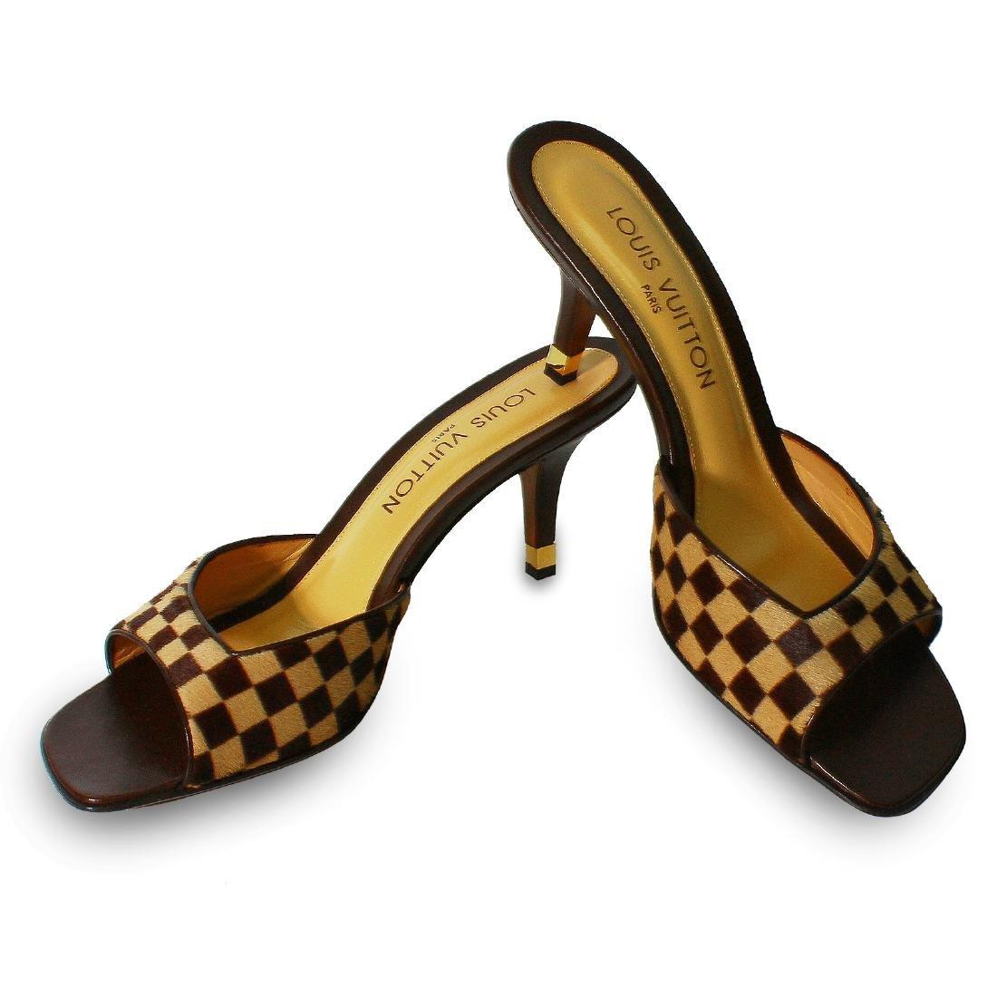 Louis Vuitton Damier Sauvage Shoes Sz 39.5