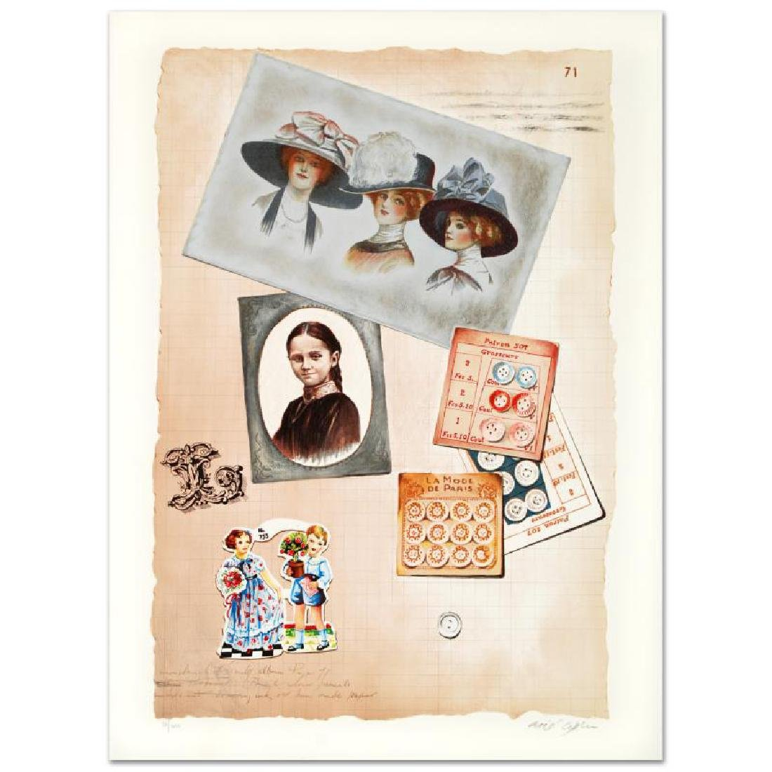 """Family Album II"" Limited Edition Lithograph by Arie"