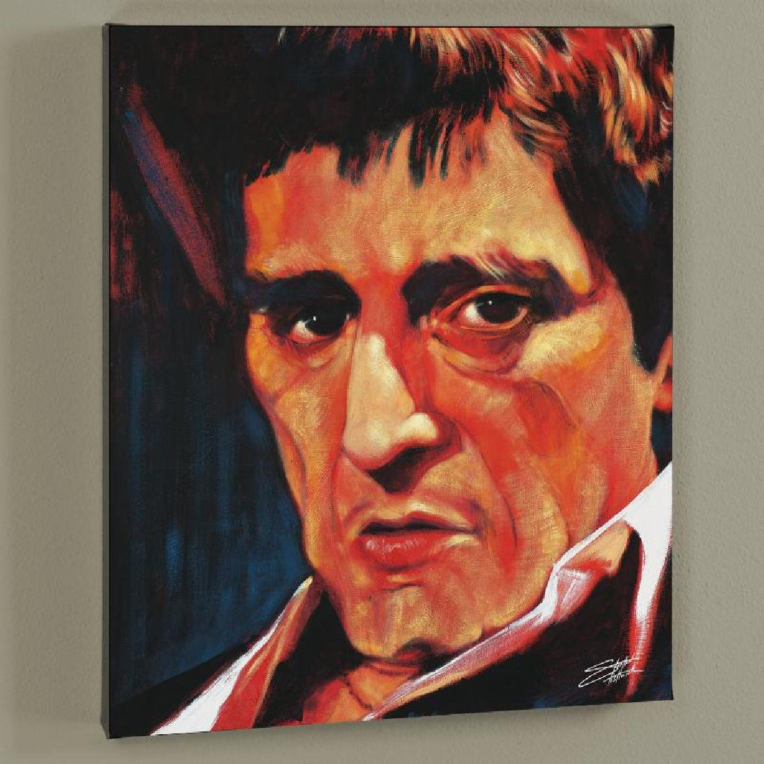 """Pacino"" Limited Edition Giclee on Canvas by Stephen"