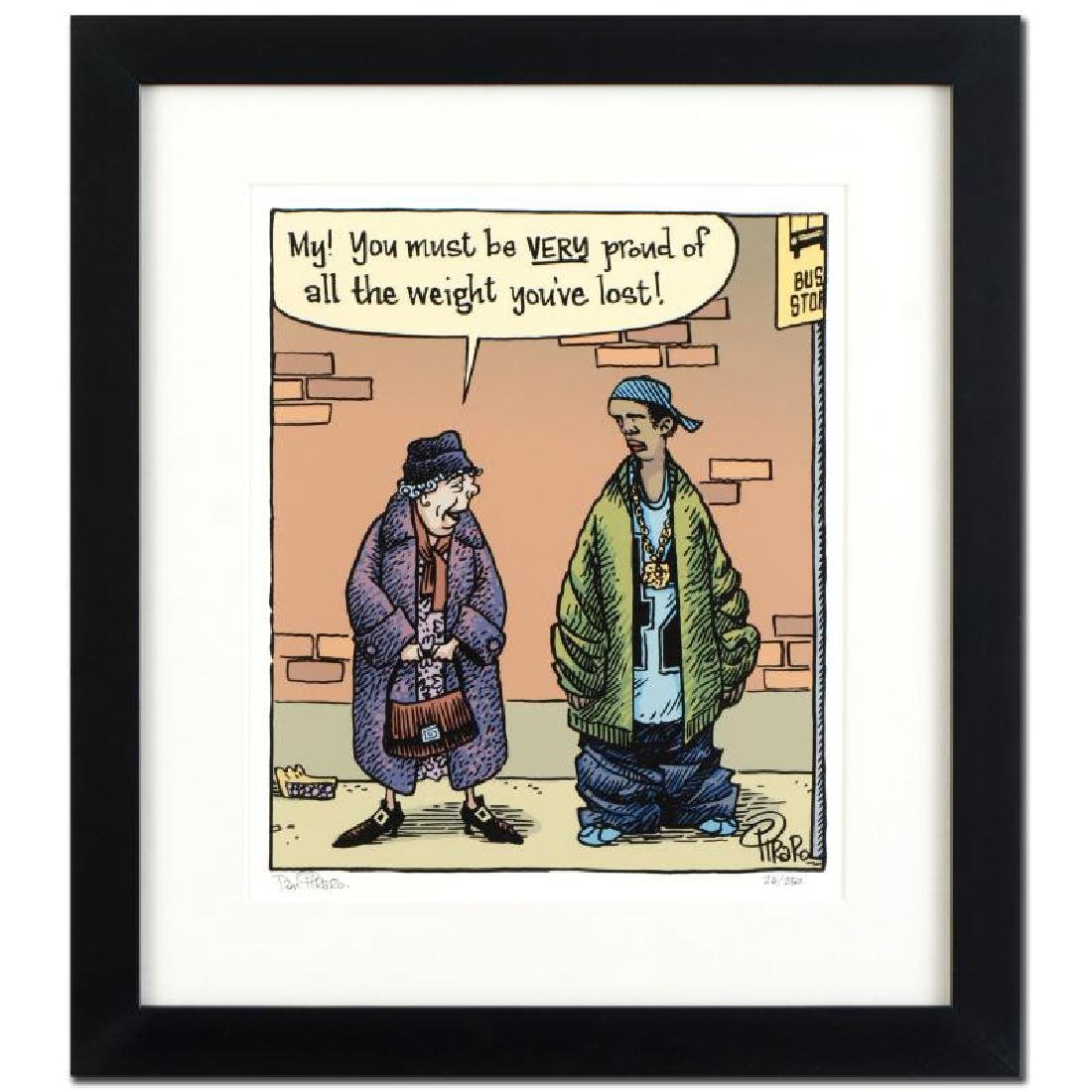 "Bizarro! ""Baggy Pants"" is a Framed Limited Edition"