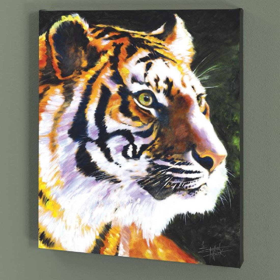 """Patience"" LIMITED EDITION Giclee on Canvas by Stephen"