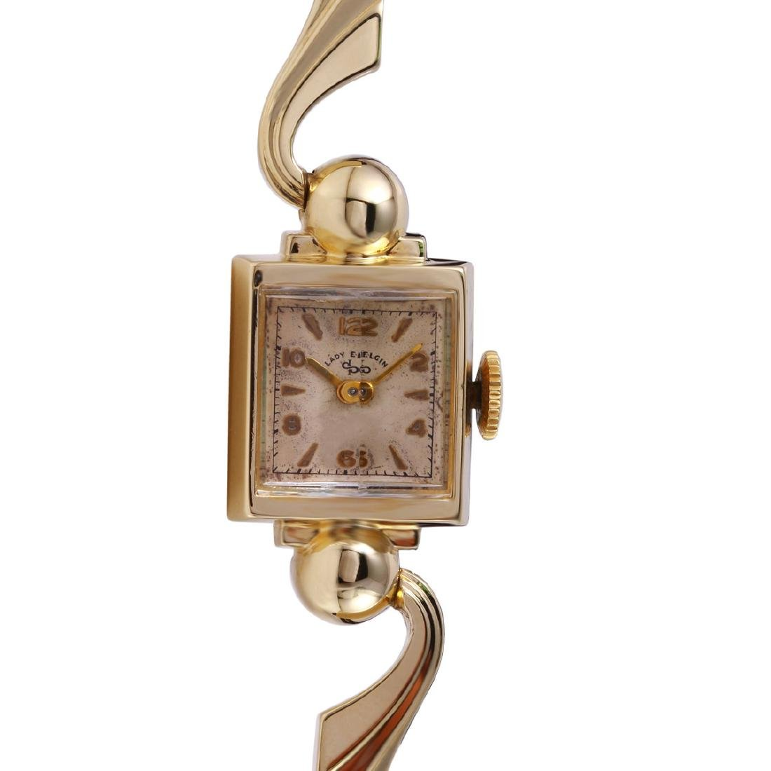 Lady Elgin Antique 14KT Yellow Gold Watch