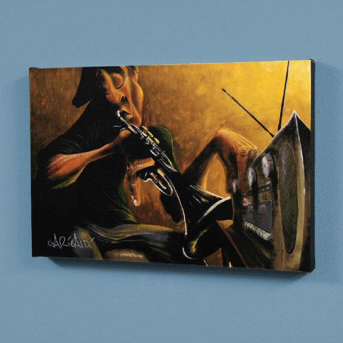 """Urban Tunes"" LIMITED EDITION Giclee on Canvas by David"