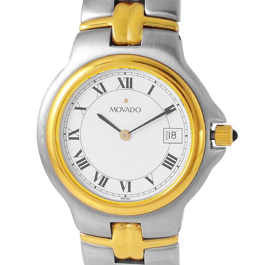 Movado Men's Stainless Steel Quartz Watch