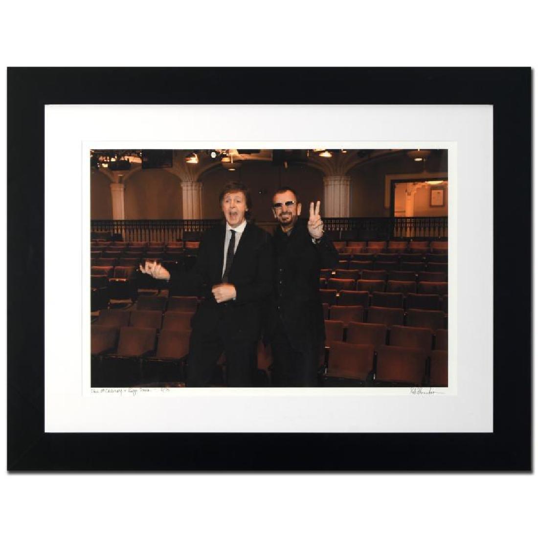 """Paul McCartney & Ringo Starr"" Limited Edition Giclee"