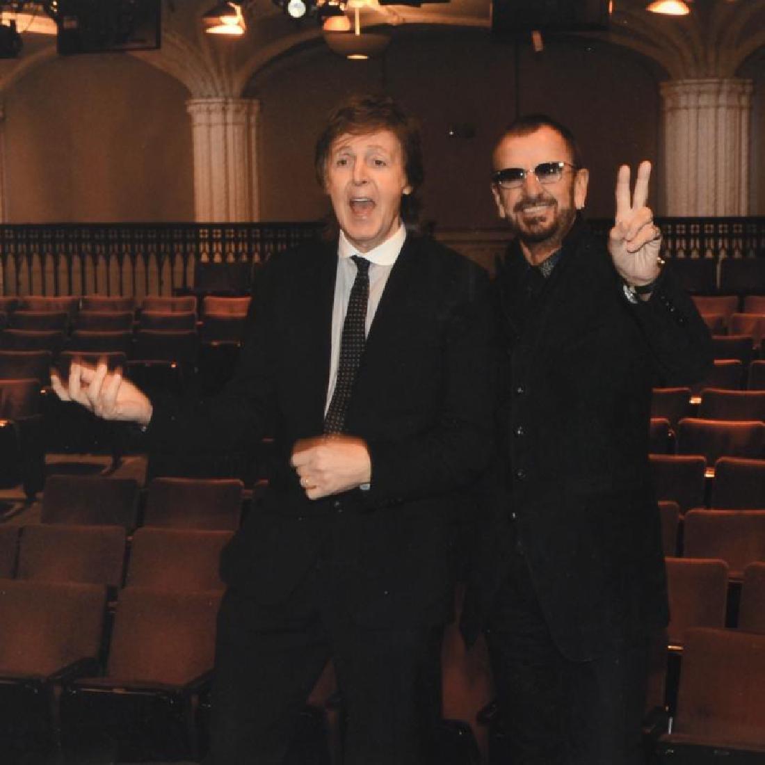 """Paul McCartney & Ringo Starr"" Limited Edition Giclee - 4"
