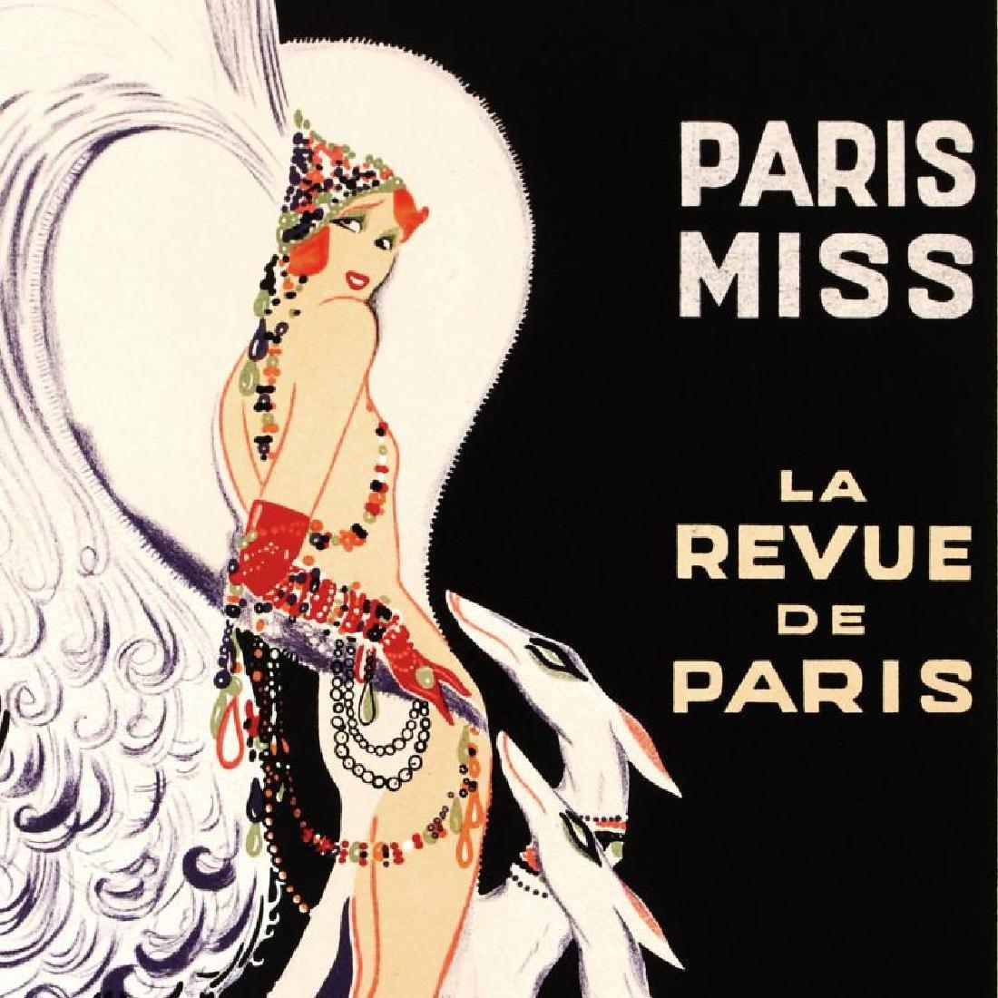 """""""Casino De Paris Mistenquette"""" Hand Pulled Lithograph - 4"""