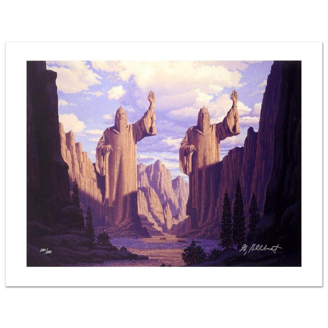 """The Pillars Of The Kings"" Limited Edition Giclee on"