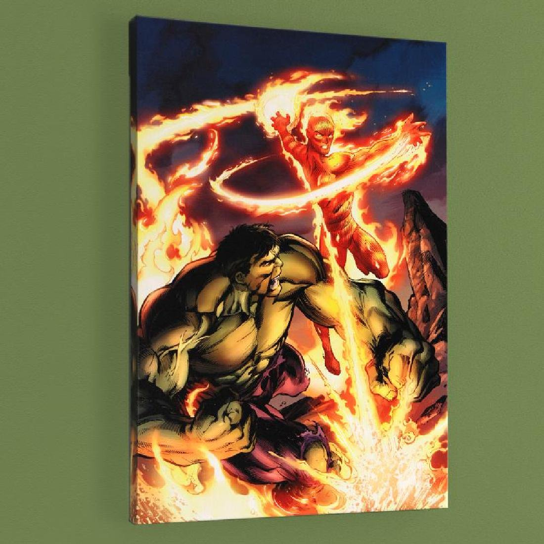 """Incredible Hulk & The Human Torch: From the Marvel"