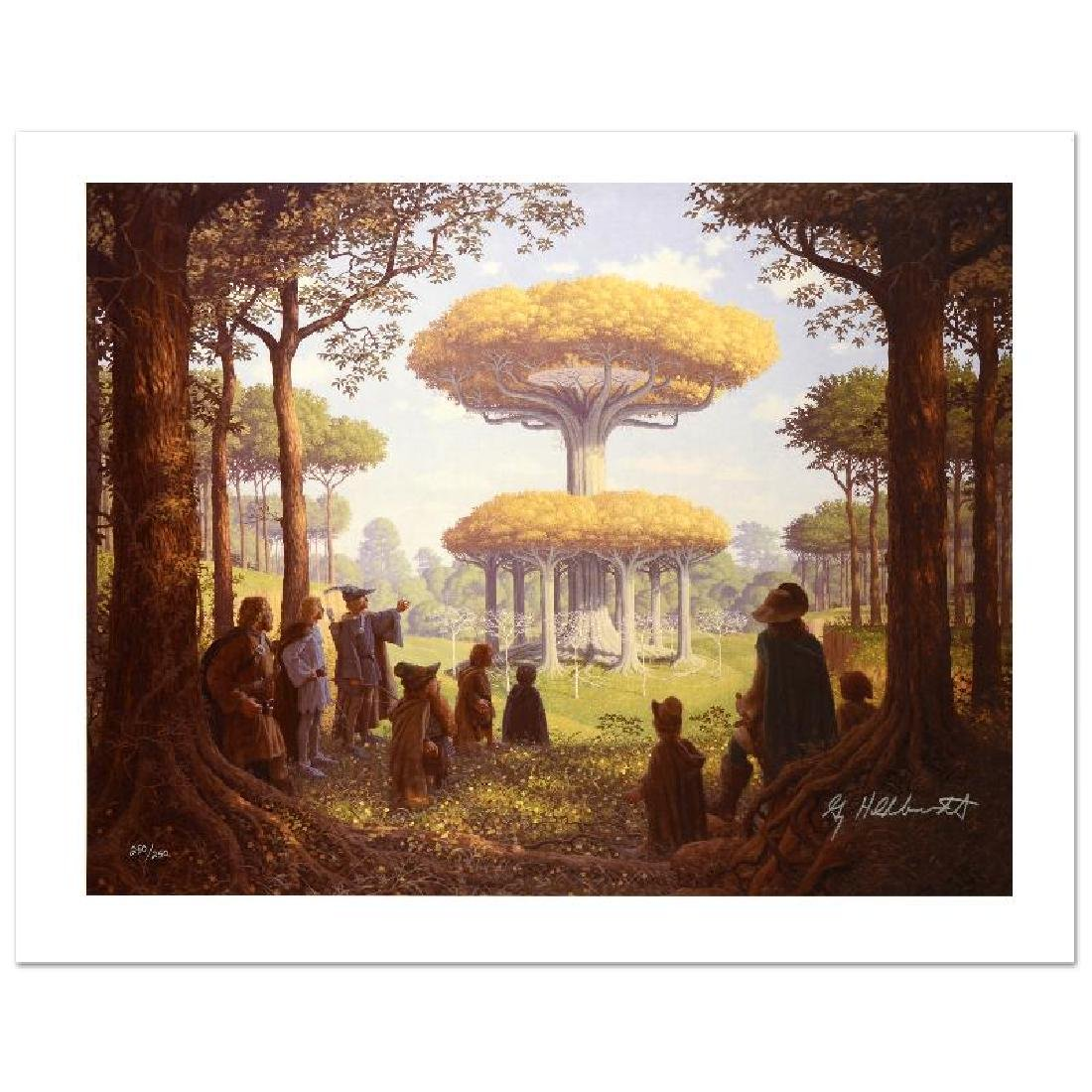 """""""Lothlorien"""" Limited Edition Giclee on Canvas by The - 3"""