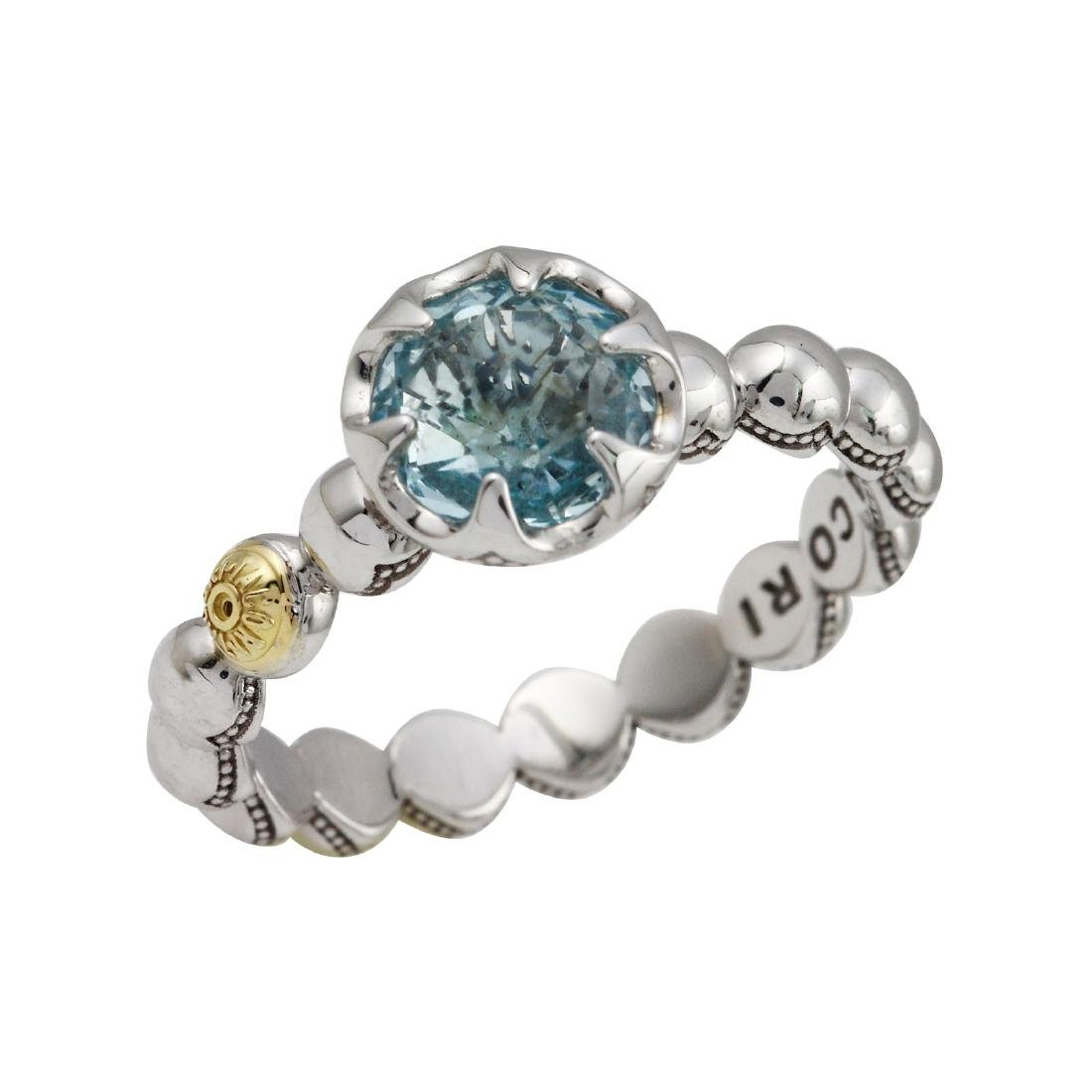 Tacori Sterling and 18KT Yellow Gold Sonoma Skies - 4