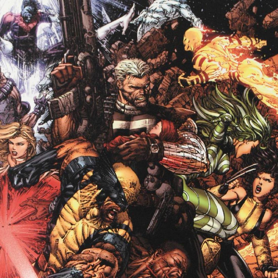 """""""X-Men #207 (Messiah CompleX)"""" Limited Edition Giclee - 3"""