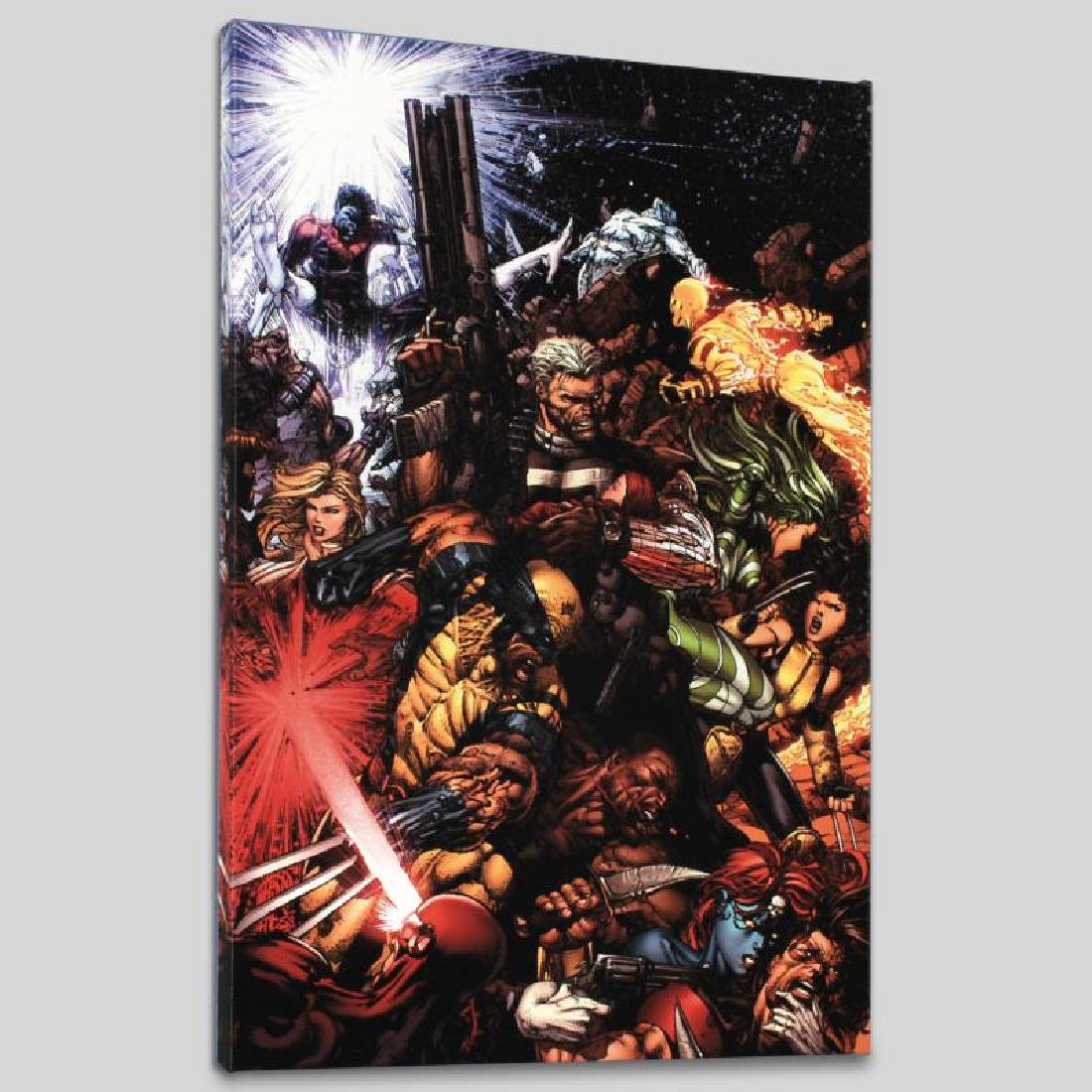 """""""X-Men #207 (Messiah CompleX)"""" Limited Edition Giclee - 4"""