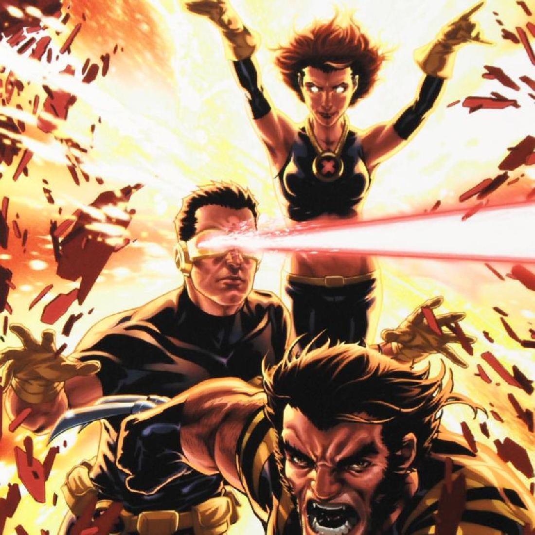 """Ultimatum: X-Men Requiem #1"" Limited Edition Giclee on - 3"