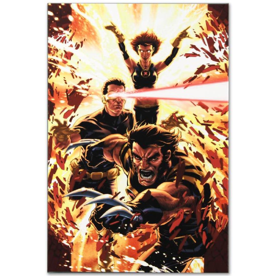 """Ultimatum: X-Men Requiem #1"" Limited Edition Giclee on - 4"