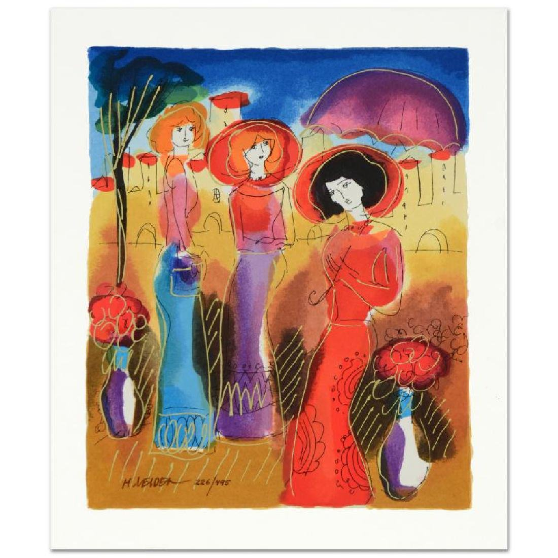 """Summer Day"" Limited Edition Serigraph by Moshe Leider"