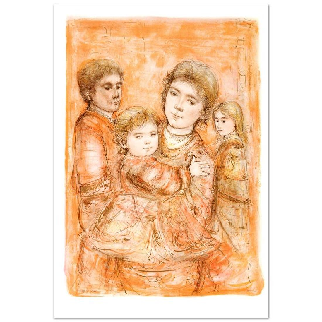 "Portrait of a Family Limited Edition Lithograph (28"" x"