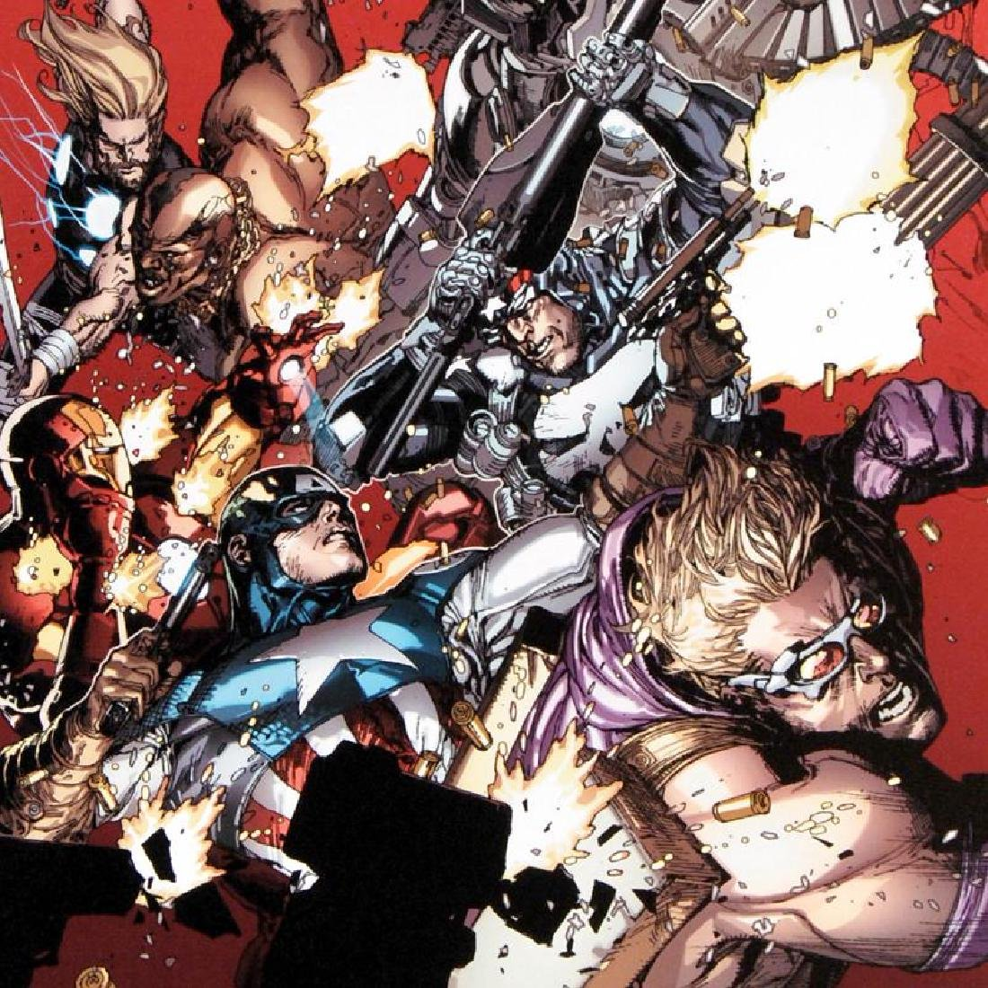 """""""Ultimate Avengers vs. New Ultimates #1"""" LIMITED - 3"""