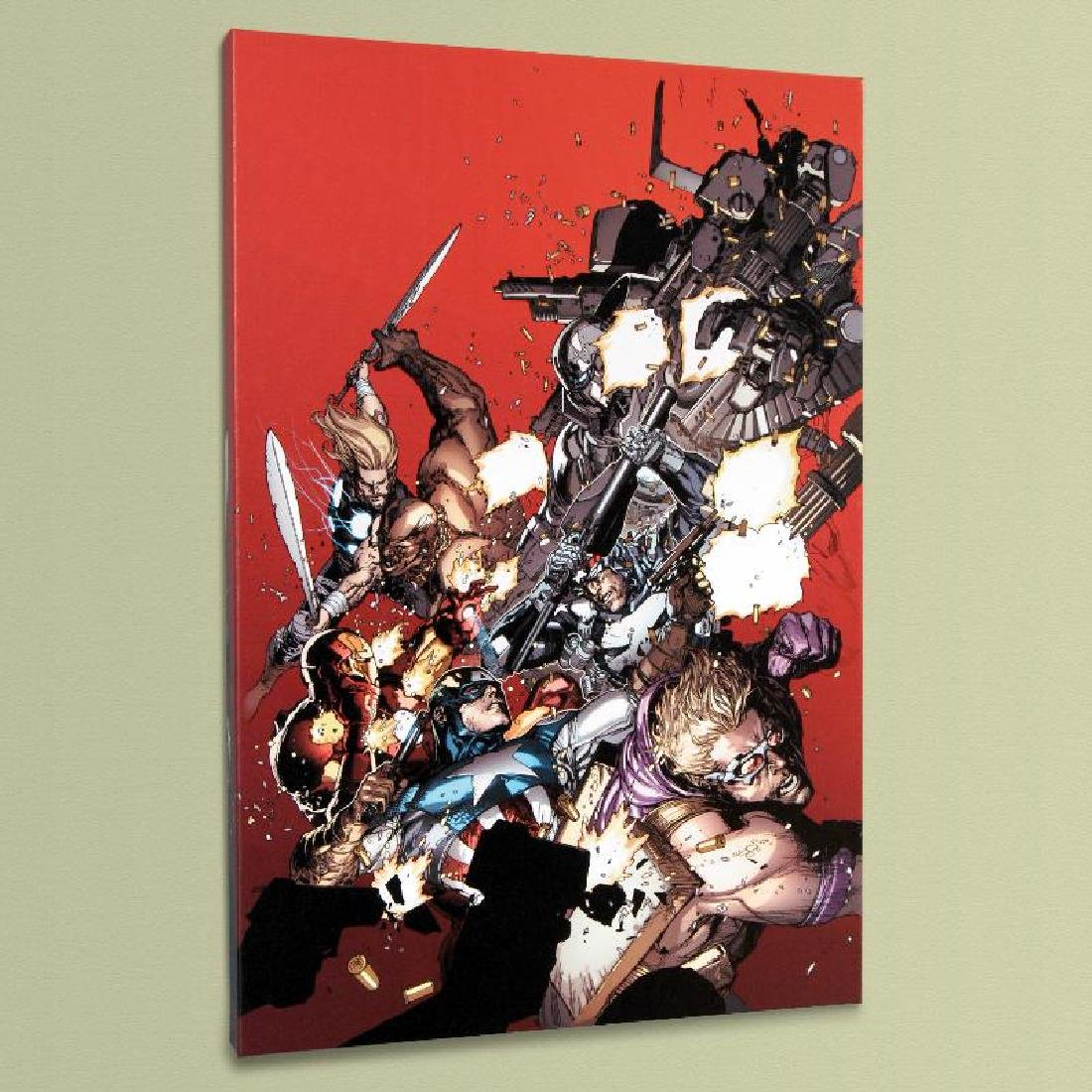 """""""Ultimate Avengers vs. New Ultimates #1"""" LIMITED - 4"""