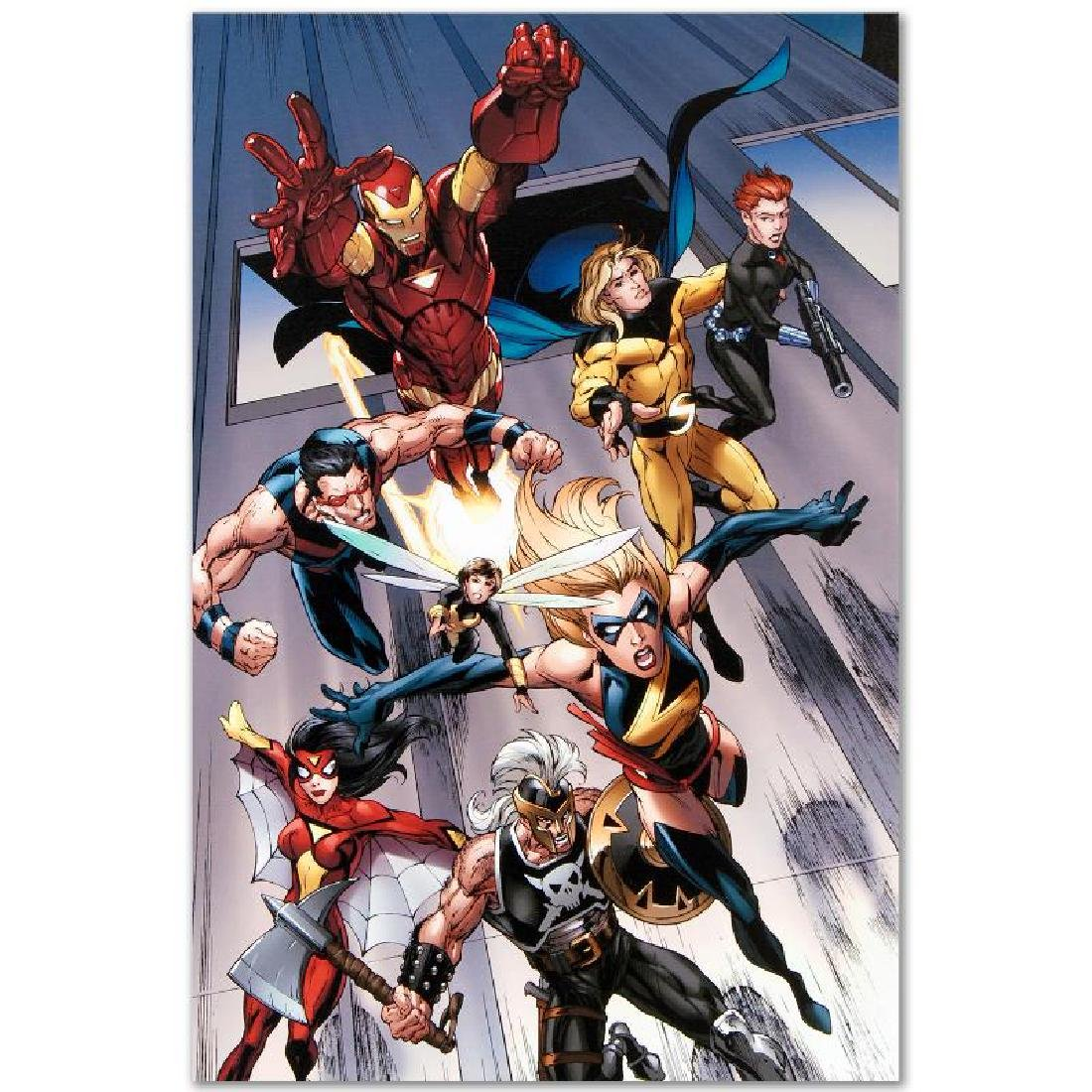 """""""The Mighty Avengers #7"""" LIMITED EDITION Giclee on - 5"""