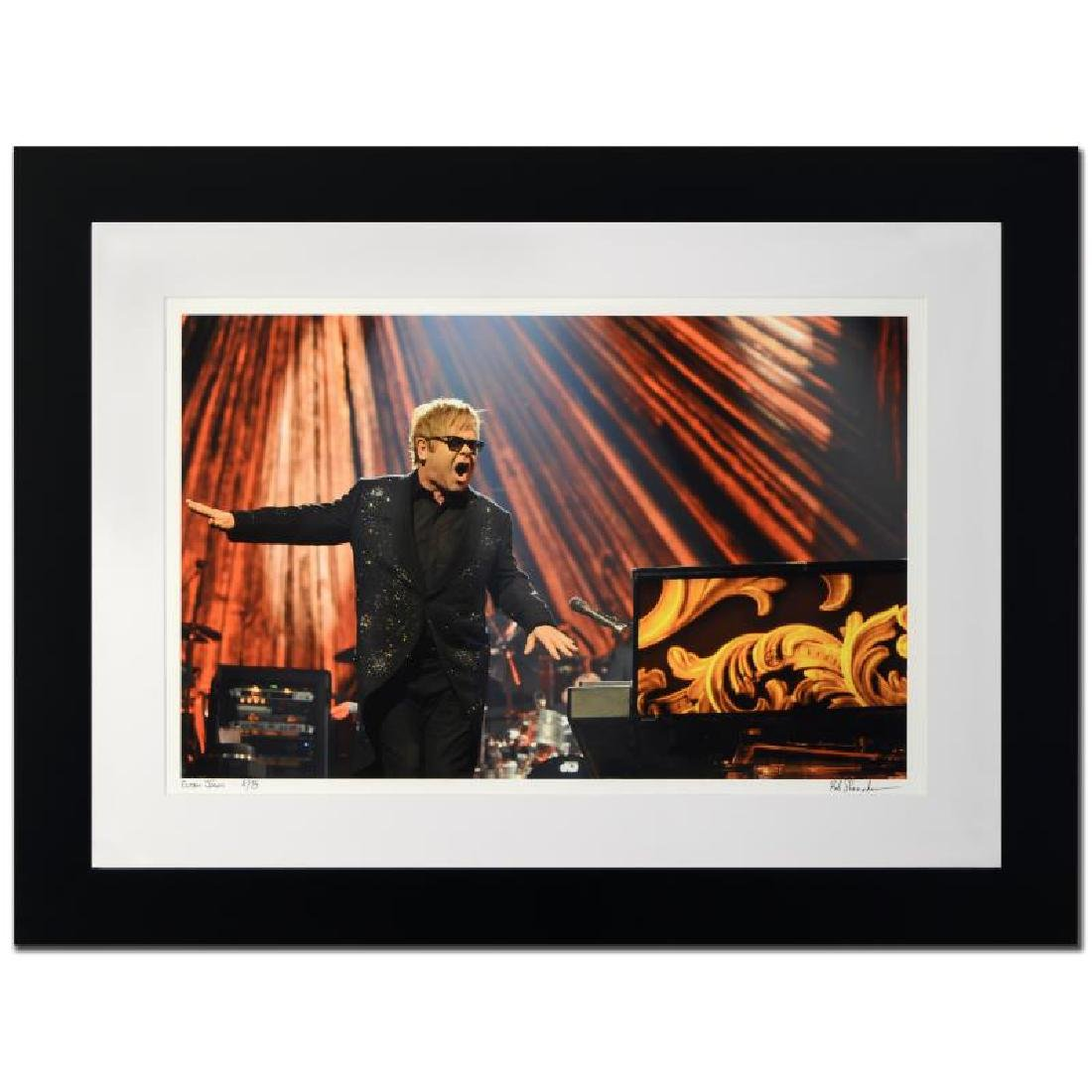 """Elton John"" Limited Edition Giclee by Rob Shanahan"