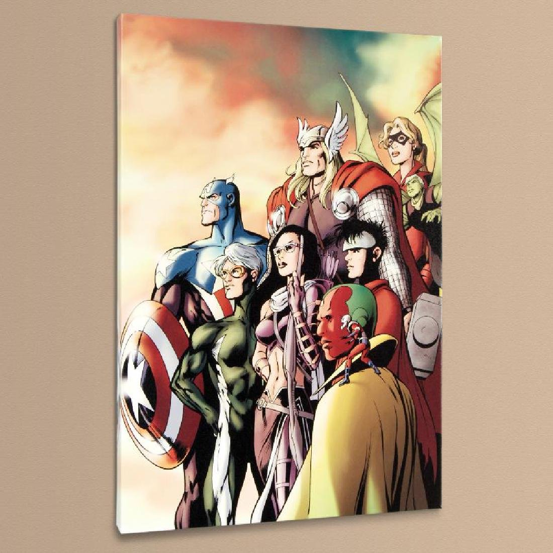 """I Am an Avenger #5"" LIMITED EDITION Giclee on Canvas"