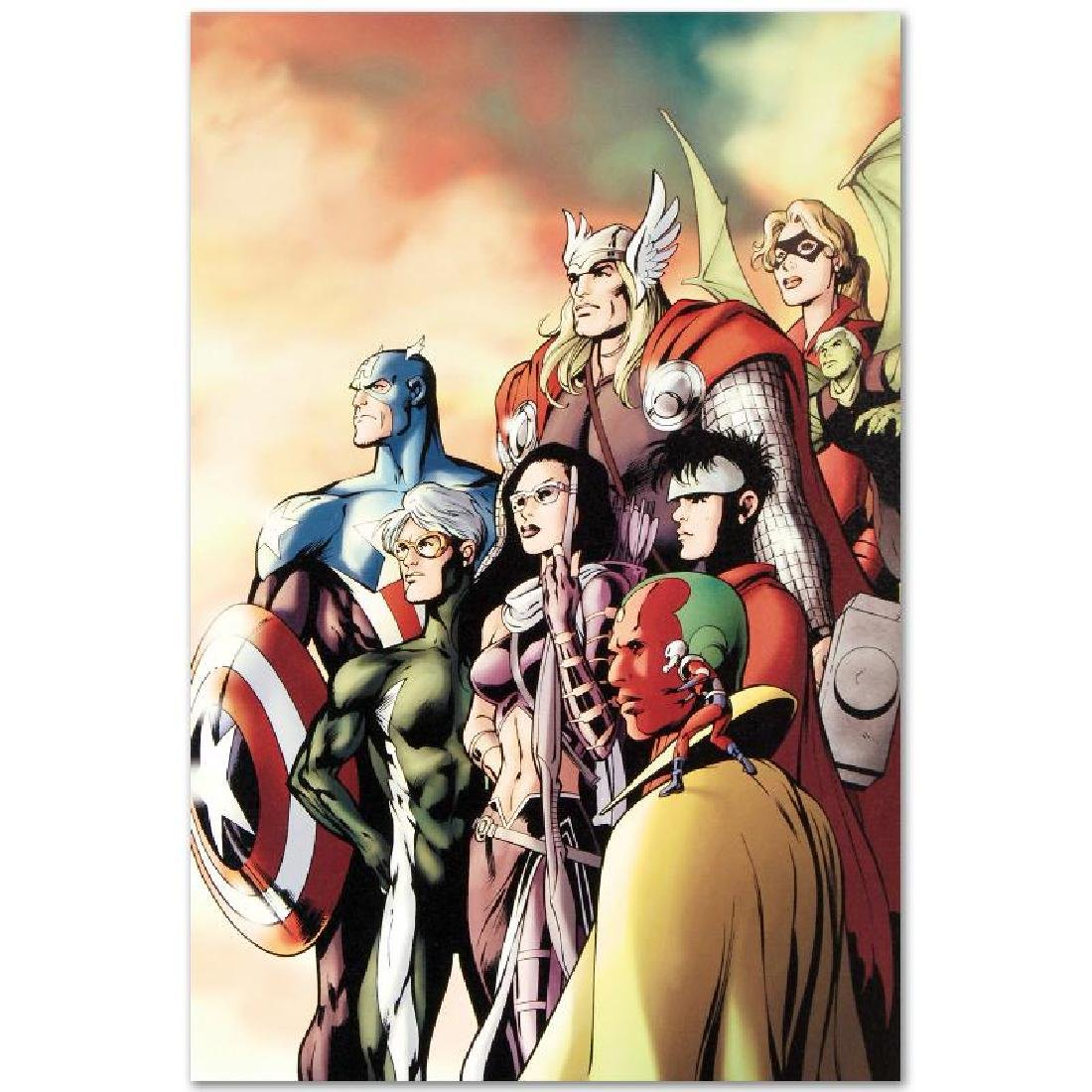 """I Am an Avenger #5"" LIMITED EDITION Giclee on Canvas - 5"