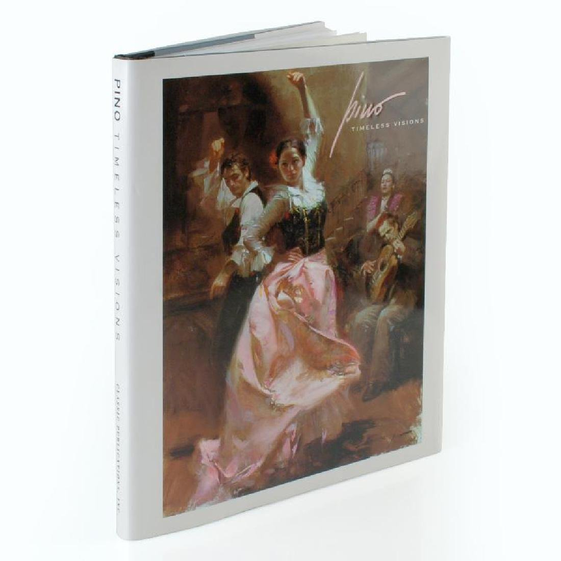 """""""Pino: Timeless Visions""""(2007) Fine Art Book with Text"""
