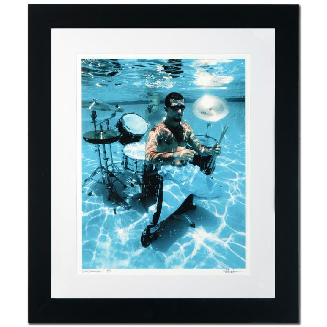 """John Dolmayan"" Limited Edition Giclee by Rob Shanahan - 3"