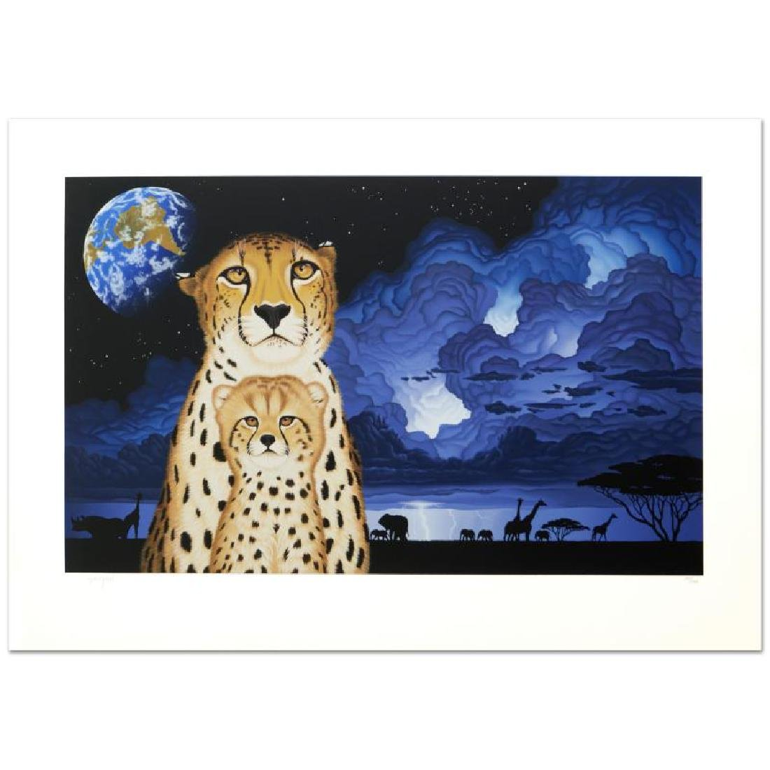 """Guardians of the Night"" Limited Edition Serigraph by - 3"