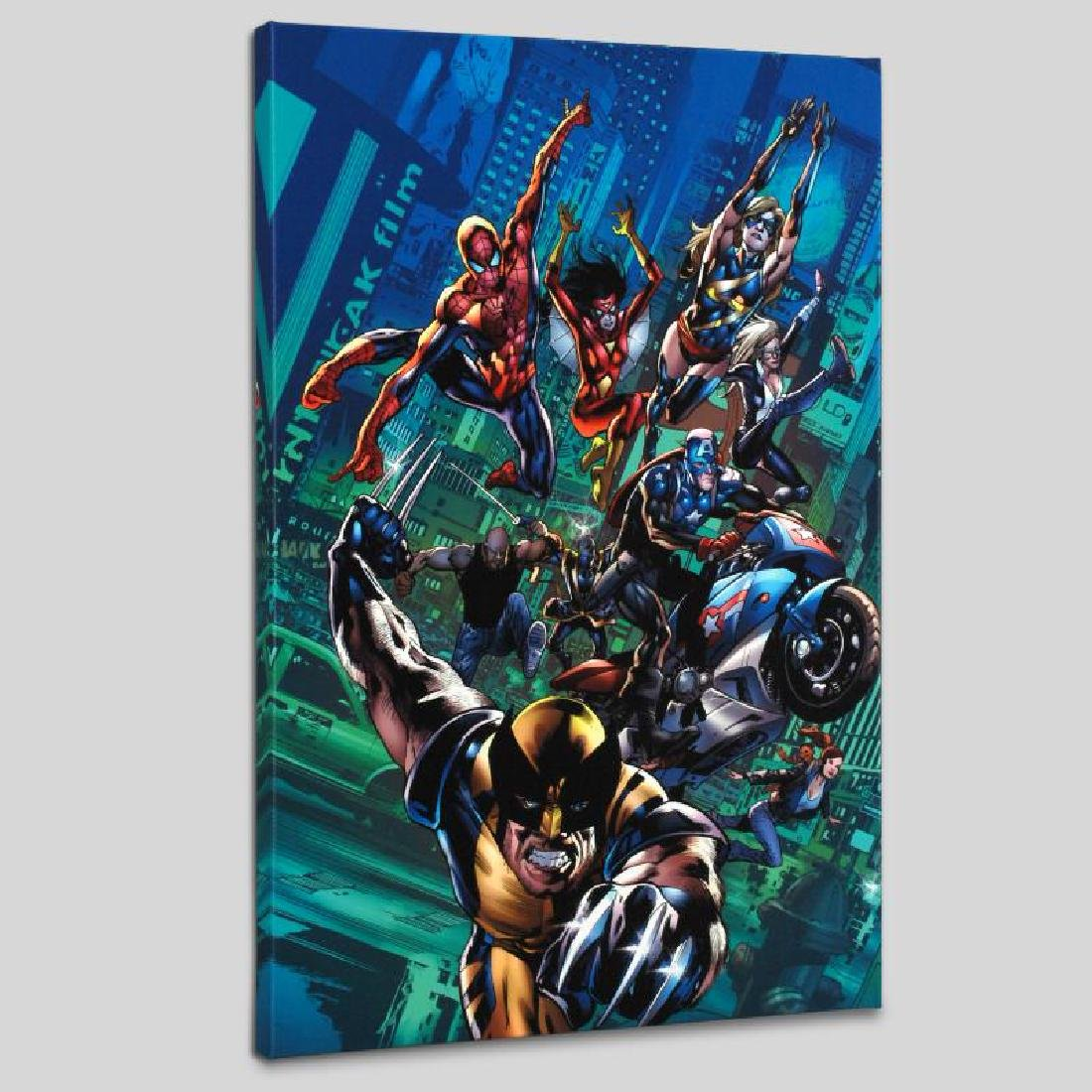 """New Avengers Finale #1"" LIMITED EDITION Giclee on"