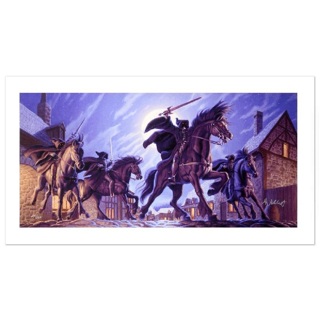 """""""The Black Riders"""" Limited Edition Giclee on Canvas by"""