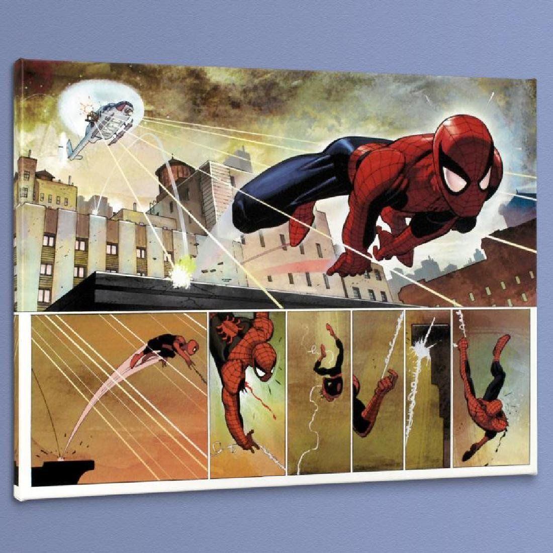 """The Amazing Spider Man #584"" Limited Edition Giclee on"