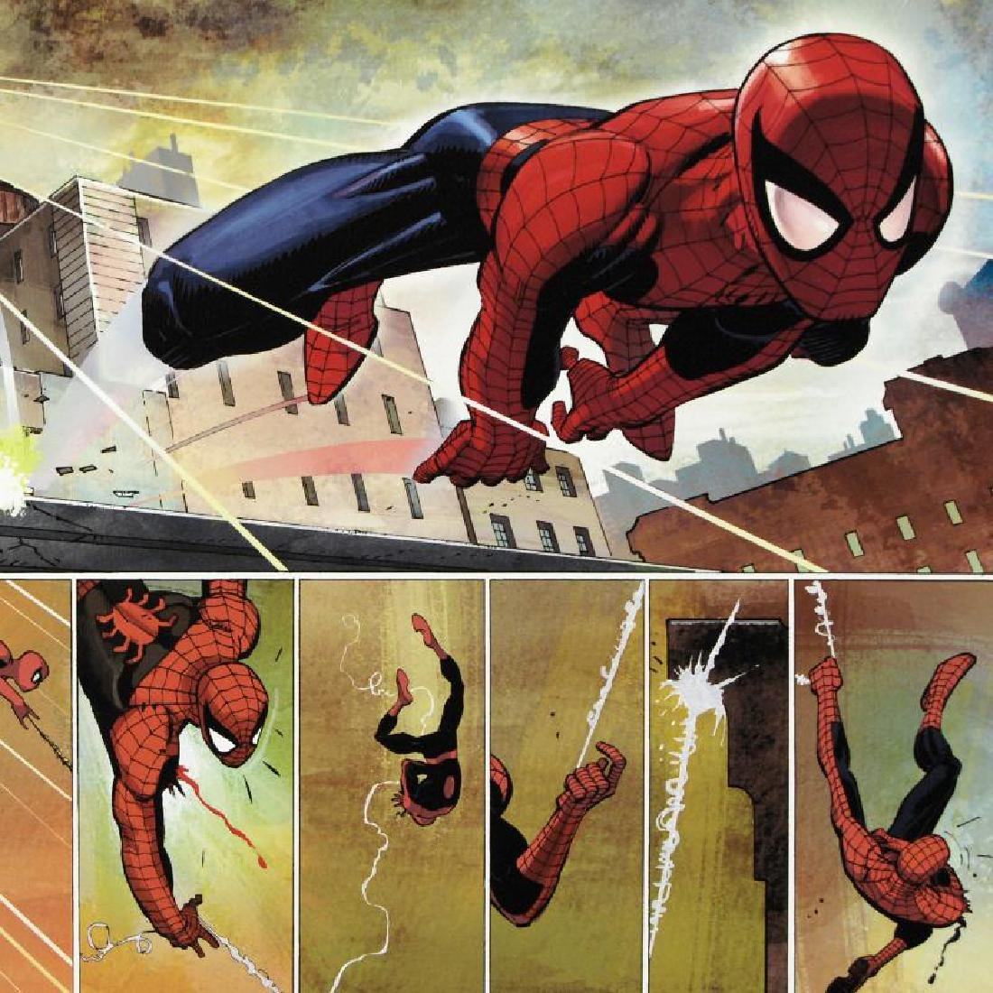 """The Amazing Spider Man #584"" Limited Edition Giclee on - 5"