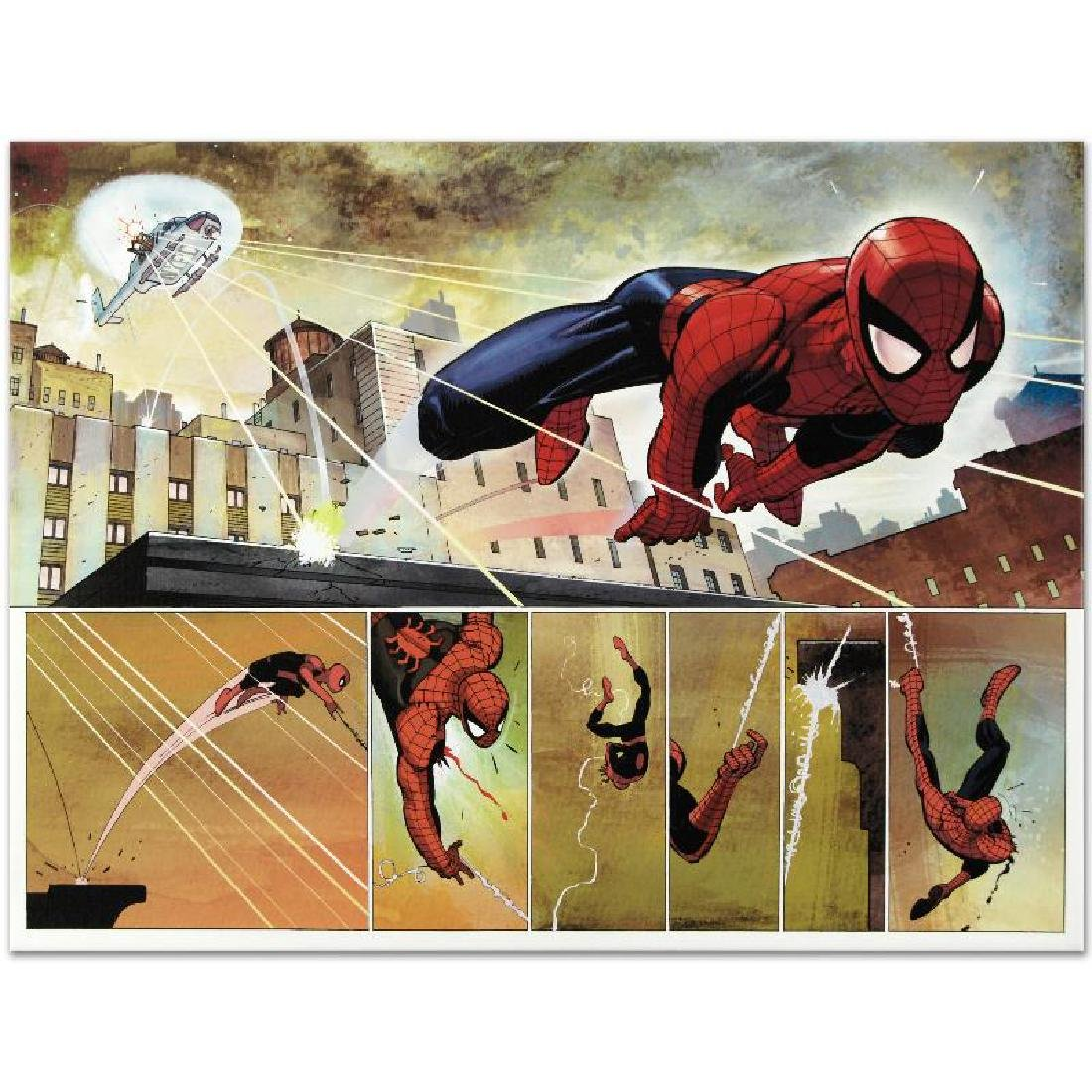 """The Amazing Spider Man #584"" Limited Edition Giclee on - 6"