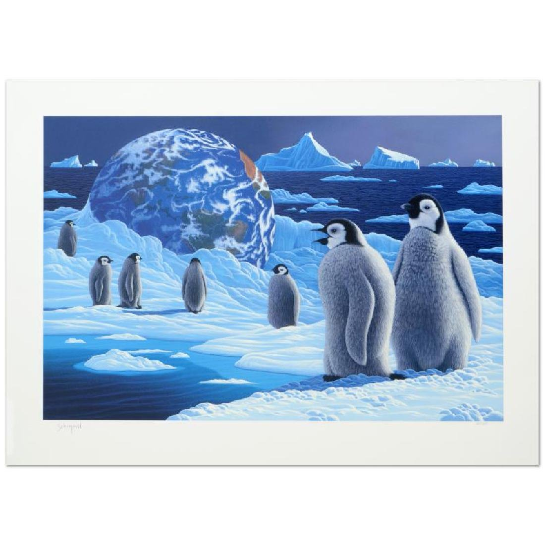 """Antarctica's Children"" Limited Edition Serigraph by"