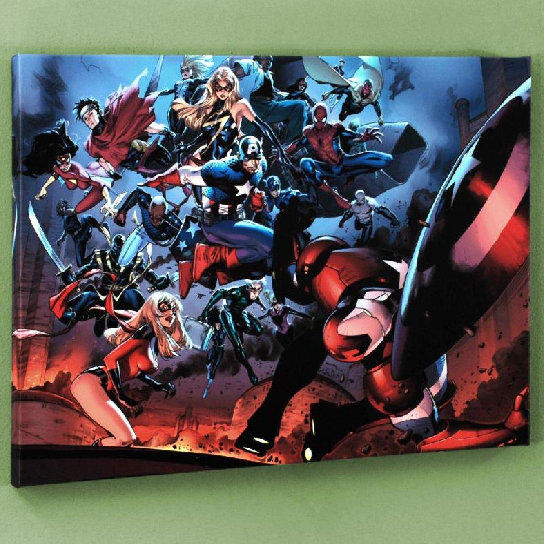 """""""Siege #3"""" Limited Edition Giclee on Canvas by Oliver"""