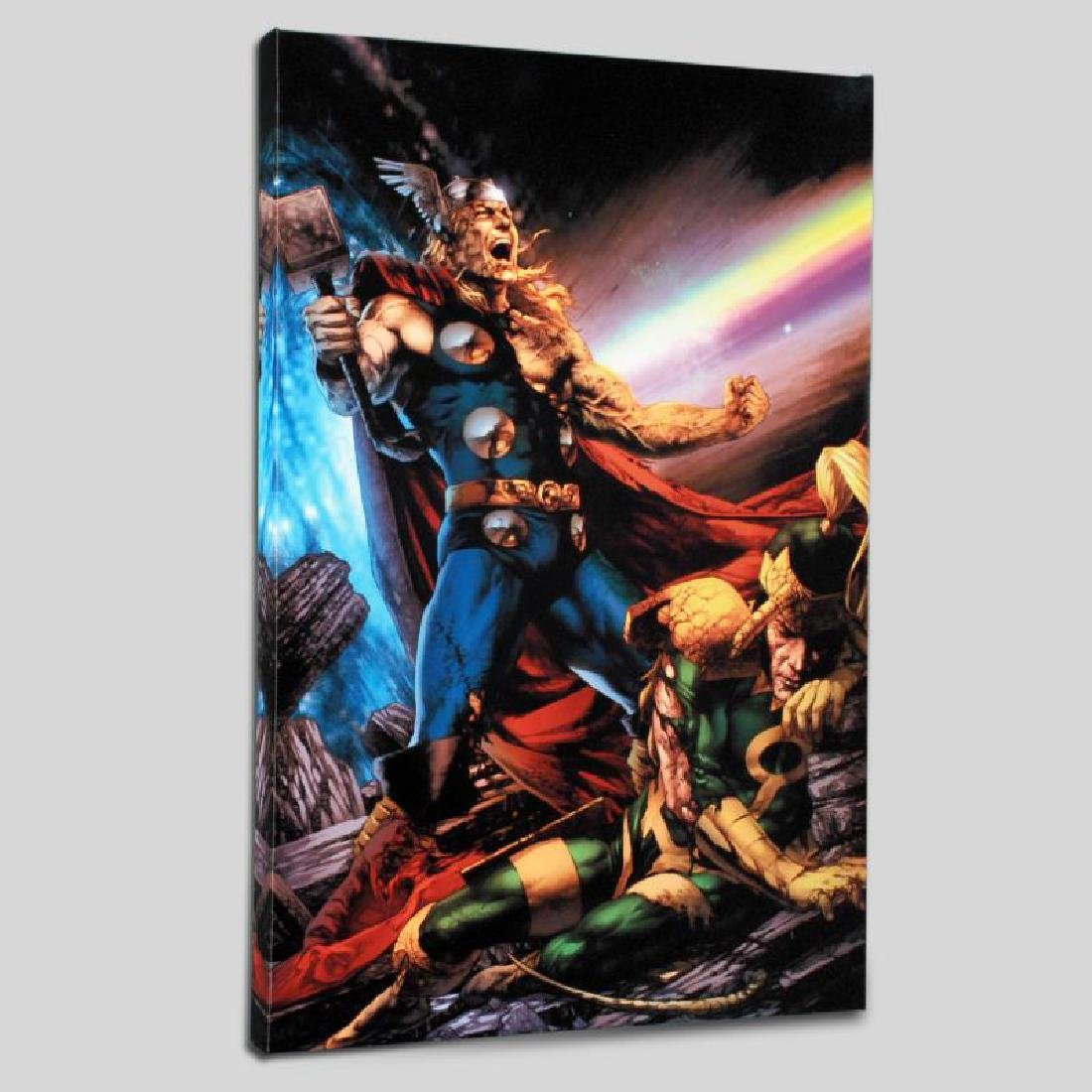 """Thor: First Thunder #5"" Limited Edition Giclee on"
