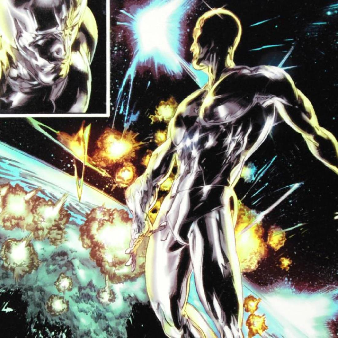 """""""Silver Surfer: In Thy Name #4"""" Limited Edition Giclee - 3"""