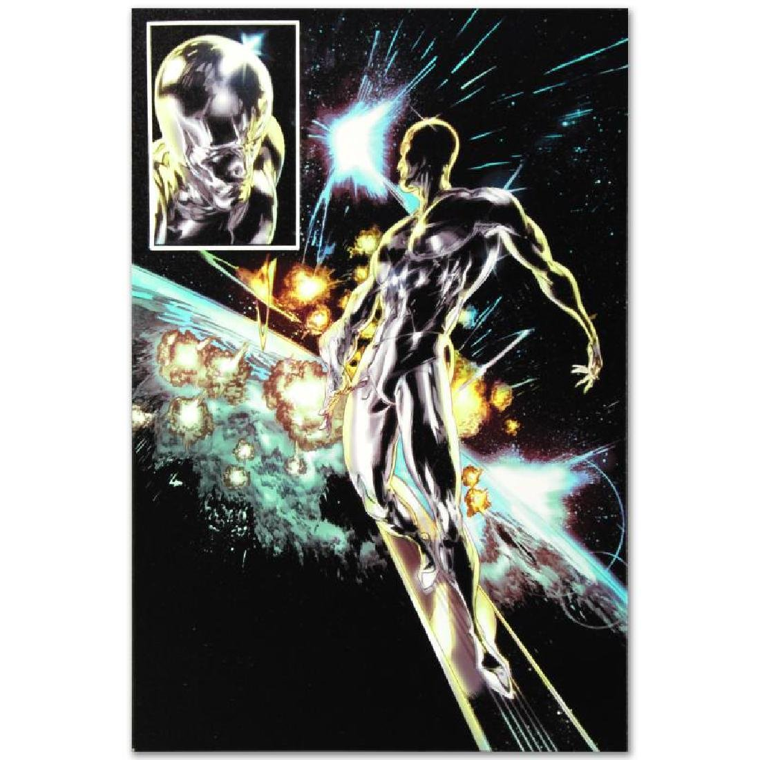 """""""Silver Surfer: In Thy Name #4"""" Limited Edition Giclee - 4"""