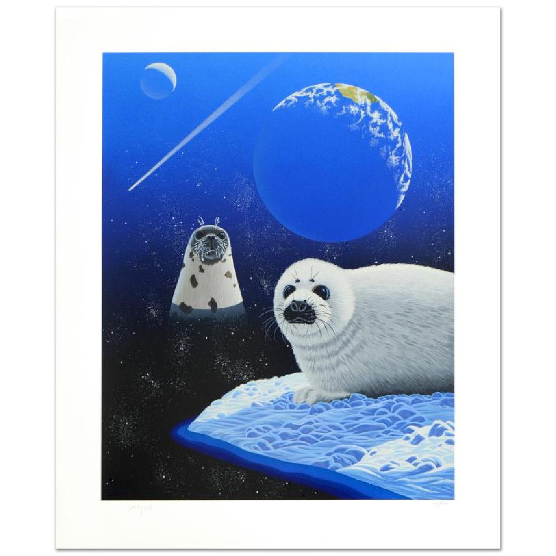 """Our Home Too IV (Seals)"" Limited Edition Serigraph by"